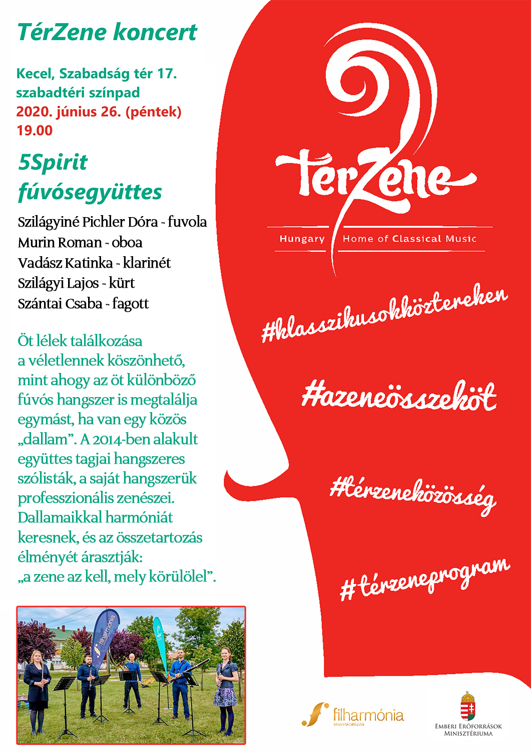 Térzene program - 2020. június 26.